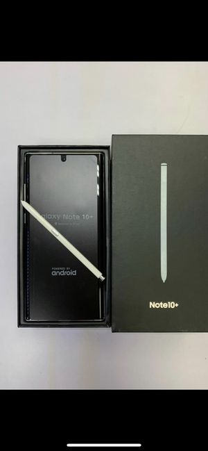 Samsung Galaxy Note 10 Plus New Unlocked for Sale in Sugar Land, TX