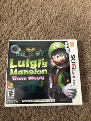 Nintendo 3ds luigis mansion CASE ONLY for Sale in Fremont, CA