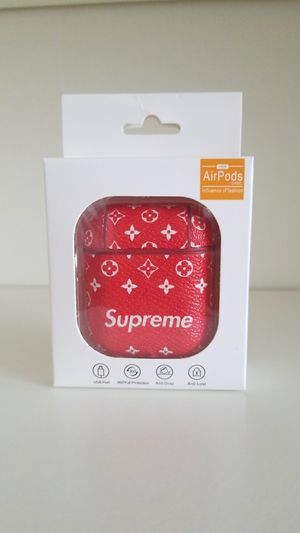 Airpods Supreme Red Color for IPhone for Sale in Pembroke Pines, FL