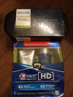 Philips NiteWhite! & Crest HD toothpaste for Sale in Nashville, TN