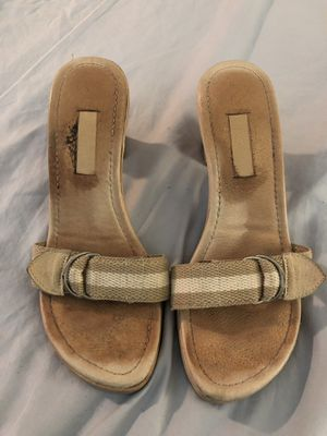Canvas strap heel, JCrew(?), 8.5 for Sale in Seattle, WA