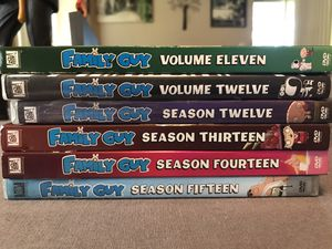6 Uncensored Seasons of Family Guy for Sale in Valrico, FL