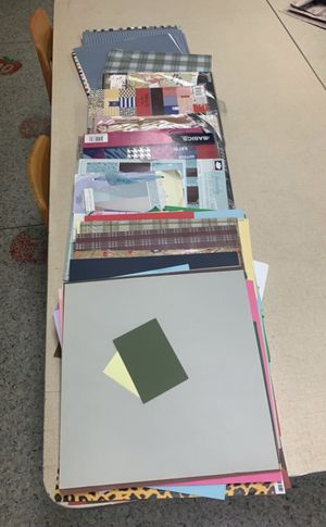 "12"" x 12"" variety of Cardstock for Sale in Long Beach, CA"