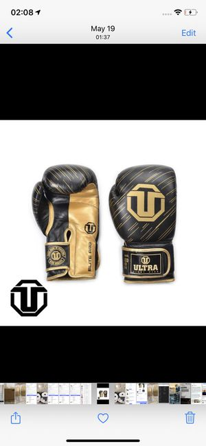 18oz boxing gloves hand made for Sale in Miami Beach, FL