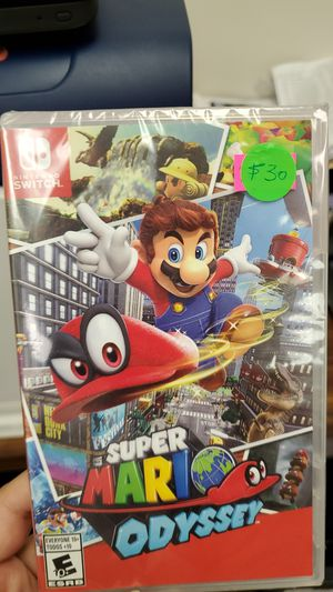 Nintendo Switch Super Mario Odyssey for Sale in Norcross, GA
