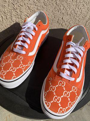 Orange Gucci Vans for Sale in McFarland, CA
