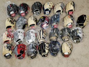 Gloves for Sale!!! Baseball Mitt!! All pro grade!! Wilson Rawlings A2000 Heart of the Hide Pro Preferred Marucci for Sale in Riverside, CA
