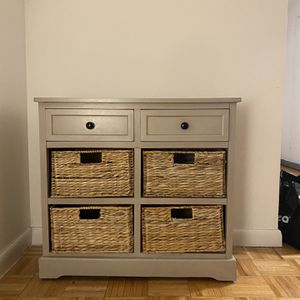 West Elm Console And Storage for Sale in New York, NY