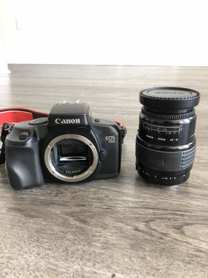 Canon EOS 750 camera with Sigma 35-135mm lens for Sale in Tampa, FL