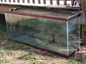 Reptile cage fully self contained with screened in top ( not shown) for Sale in Pleasant View, TN