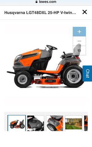 Husqvarna LGT48DXL 25-HP V-Twin Hydrostatic 48-in Riding Lawn mower with Mulching Capability for Sale in Brooklyn, NY