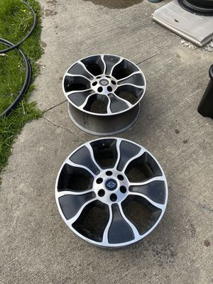 Three 2012 Harley Davidson Ford F-150 OEM rims, Two are damaged for Sale in Dearborn Heights, MI