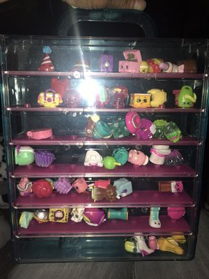 Shopkins and case display for Sale in Las Vegas, NV