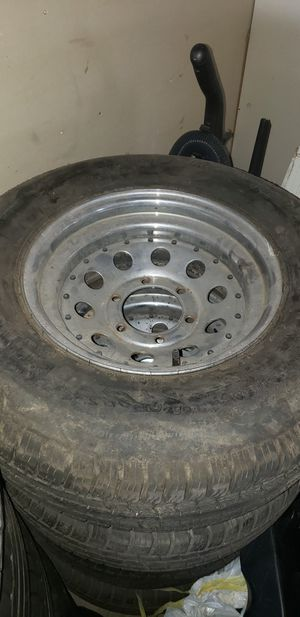 Trailer rims and tires for Sale in Ontario, CA
