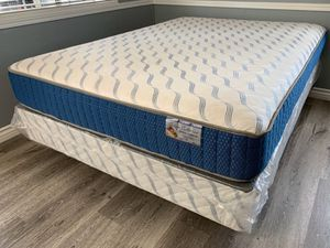 Supreme orthopedic mattresses and box spring of for Sale in Chino Hills, CA