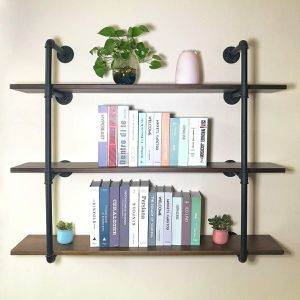 PUNCIA Long Wall Floating Solid Wood Shelf for Sale in Upland, CA