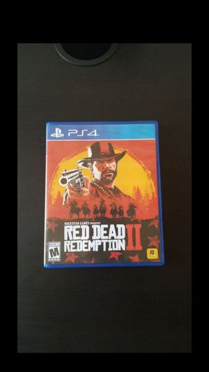 Red dead redemption 2 for Sale in Compton, CA