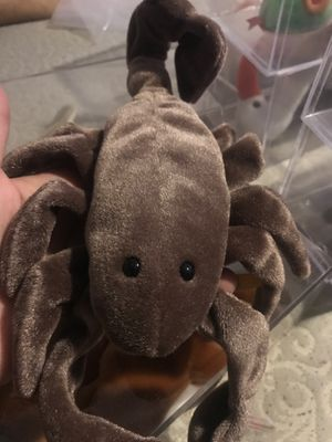 1997 stinger beanie baby with water mark in tag for Sale in Las Vegas, NV