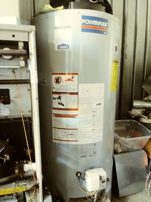 50 gallon Power Flex Power Vent gas hot water heater for Sale in Southfield, MI