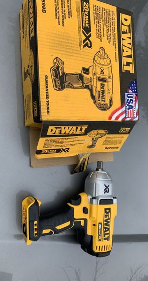 "Dewalt 1/2"" Impact Wrench Brushless XR High torque 20V for Sale in Norwalk, CA"