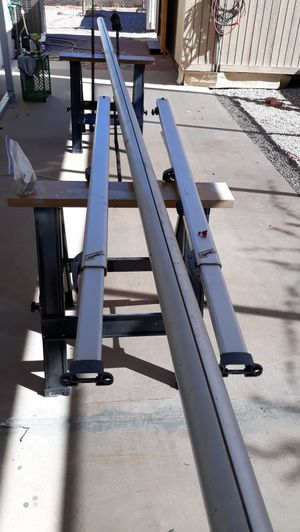 """Sprit 24'5"""" rv awning tube with end post and hardware for free. No canvas tarp. Recoil springs are good. for Sale in Mesa, AZ"""