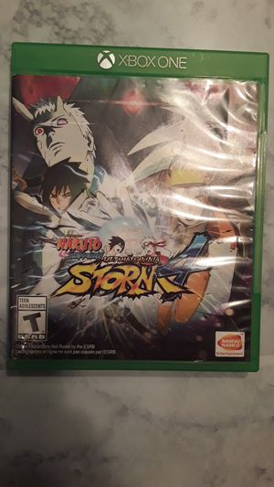 Naruto Shippuden Ultimate Ninja Storm4. for Sale in Glenmora, LA