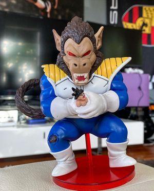 Oozaru Vegeta Ape Squeezing Goku Funny Figure - Dragon Ball Z Model Collectible for Sale in Miami Beach, FL