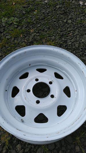 Trailer rim, brand new. R16 5 lug for Sale in Montesano, WA