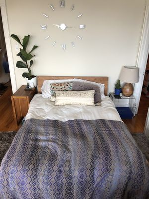Full bed frame (cb2) for Sale in San Francisco, CA