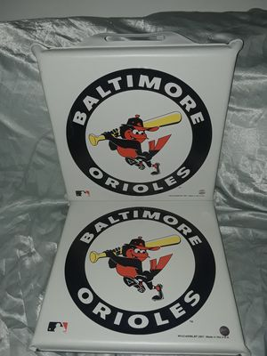 BALTIMORE ORIOLES STADIUM SEAT CUSHIONS for Sale in PT CHARLOTTE, FL
