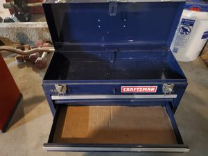 Blue craftsman tool box for Sale in Highland, CA