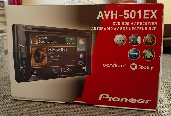 Pioneer DVD touch screen receiver