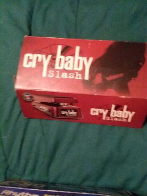 Crybaby wha pedal..slash model for Sale in Glenmora, LA