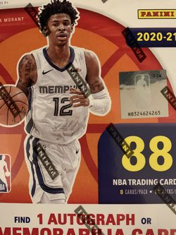 2020-21 NBA hoops blaster box Basketball cards for Sale in Brooksville,  FL