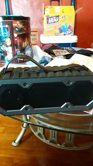 Two bluetooth speakers works perfectly the big one is very loud with come with charger for Sale in Portsmouth, VA