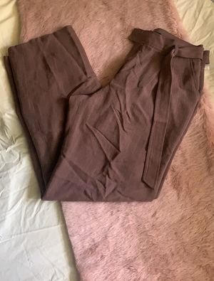 Belted Pinstripe Dress Pants for Sale in South Euclid, OH