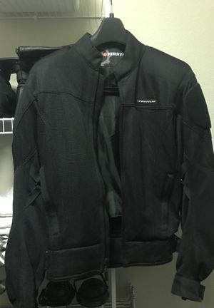 First gear men's motorcycle jacket for Sale in Chesapeake, VA