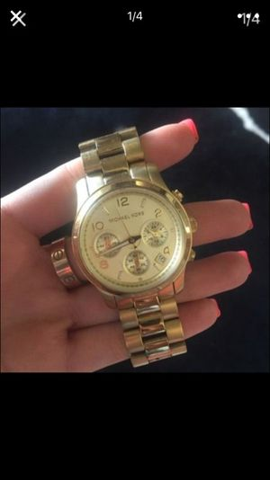 Michael Kors gold watch for Sale in Chicago, IL