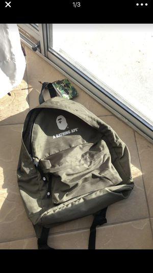 Bape Backpack for Sale in Salt Lake City, UT