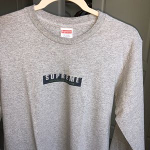 Gray Vintage Supreme Long Sleeve for Sale in Elk Grove, CA