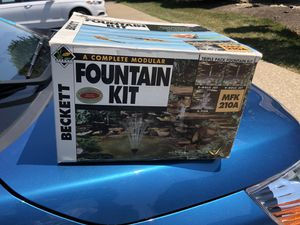 Fountain kit for Sale in St. Charles, IL