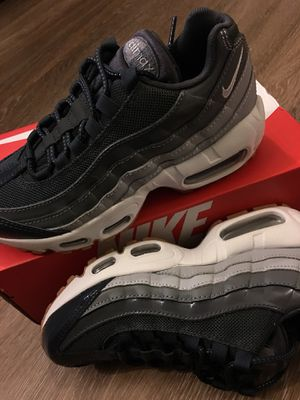 ee16f3a0277 Air Max 95 Anthracite White Wolf Grey ds sz 5.5 women 4 boys for Sale