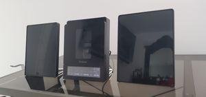 Brookstone Sleek iPod Speaker System with Subwoofer, Powerdoor, thin wafer speakers for Sale in East Windsor, NJ