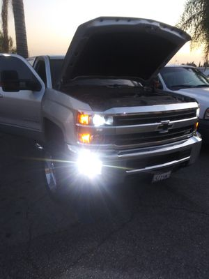 CSP Car LED lights kit MODEL H11 H11B with 1 year WARRANTY. Easy plug and play Car CSP LED headlights set for Sale in West Covina, CA