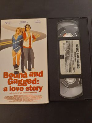 BOUND And GAGGED: A Love Story (VHS) for Sale in Lewisville, TX