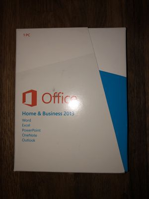 Microsoft Office Home & Business 2013 - Retail with license / product key for Sale in Redmond, WA