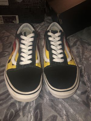 Flame vans (woman 7.5) for Sale in Fresno, CA