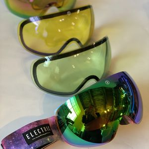 Electric EG3 Ski Snowboard Goggles with 4 Lenses for Sale in Seattle, WA