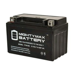 Motorcycle battery ytx9-bs for Sale in Washington, DC