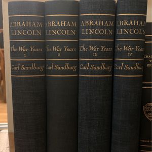 Abraham Lincoln The War Years By Carl Sandburg I, II, III, IV for Sale in La Habra, CA